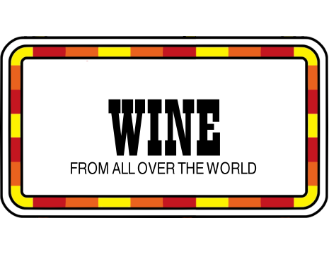 Wine from all over the world!